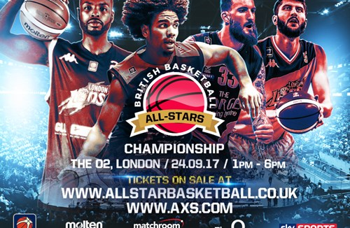 British Basketball All-stars Championship – book your tickets in the Bristol Flyers section