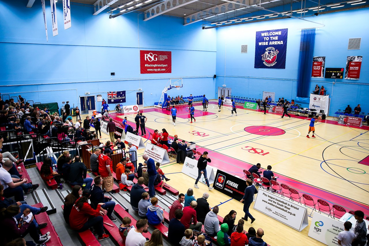 Bristol flyers and sgs college announce three year venue for Campus suite franchise