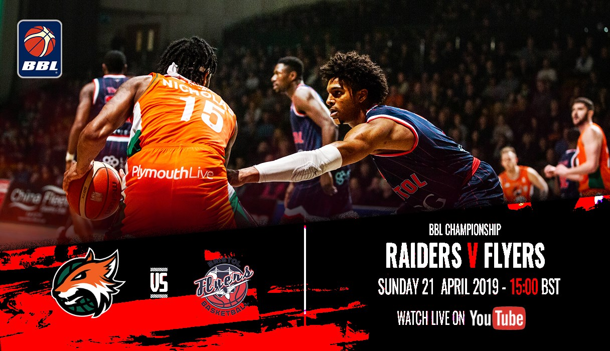 Raiders v Flyers to be streamed LIVE on YouTube  | Bristol